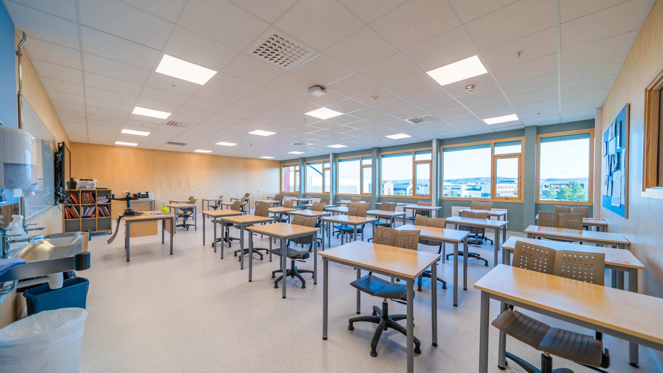 Alta Ungdomsskole Østfløy | Kivijervi Entreprenør
